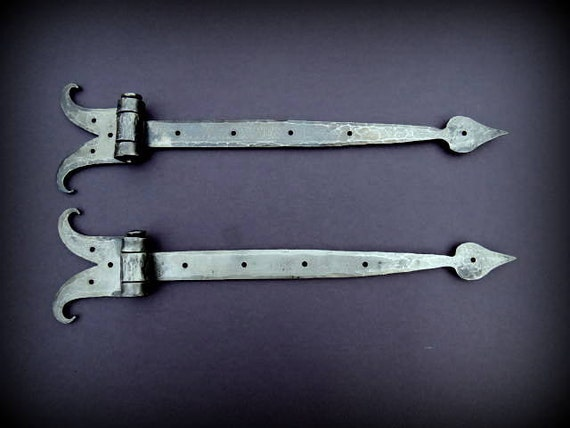 Hand Forged Strap Hinges Forged By Blacksmith Naz