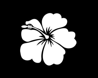 Hibiscus Flower - vehicle decal
