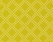 Mochi Dottie's Cousin in Lime, Rashida Coleman Hale, Cotton+Steel, RJR Fabrics, 100% Cotton Fabric, 1915-3