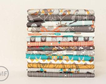 LAST AVAILABLE Fat Quarter Bundle Indelible, 14 Pieces, Katarina Roccella, Art Gallery Fabrics, 100% Cotton Fabric, IDL