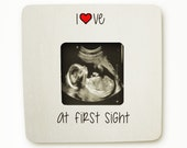 Ultrasound Frame Sonogram Frame New Baby Frame love at first sight NAS