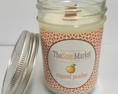 Candle Soy Wax Woodwick Sugared Peaches