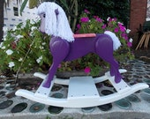 Handcrafted Wooden Rocking Horse - Heritage Pony Edition