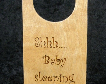 Shhh....baby sleeping