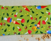 Natural Cherry Stone Heating Pad/Cold Pack--Gnomes