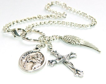 Saint On A Chain - Saint Christopher, Patron Saint of Safe Travel & Motorists