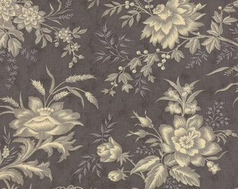 Atelier drapery charcoal by 3 Sisters for moda fabrics