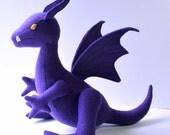 Lockheed the Dragon Plush, Purple Stuffed Dragon, Kitty Pryde, Marvel Comics, Shadowcat, Costume Accessory, X-Men, Comicon, Geekery