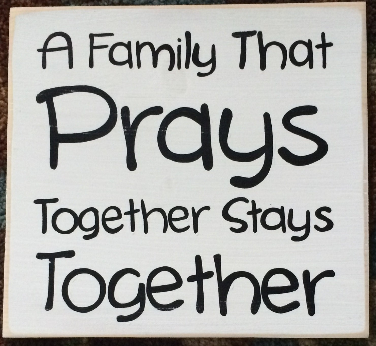 family that prays together Praying together here's a collection of activities, games and things to make and  do together, all of which extend and expand the in-game fun beyond the.