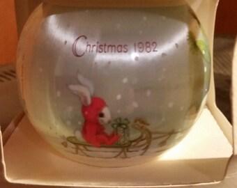 Vintage Hallmark Grandson Ornament 1982