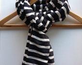 Scarves & wraps/ Wool scarves Black and white Stripes-Men's Women Wool Cotton blend Scarf-Ethiopian Scarf- Accessories-Ethiopia