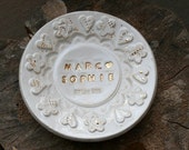 Personalised Ceramic Ring Dish