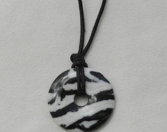 Nursing Necklace - Zebra Jasper Stone