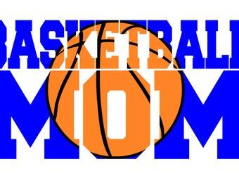SVG, Basketball Mom Knockout SVG...Digital Cut File