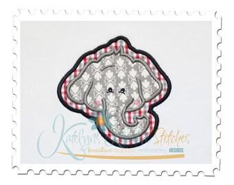 Elephant Head Applique
