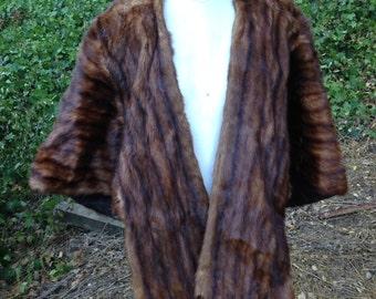 VTG Mink Shawl Turner & Magit Fine Furs mink Stole Wrap