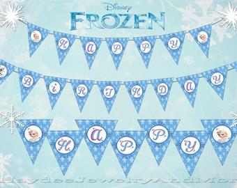 Instant Download Frozen Printable Banner