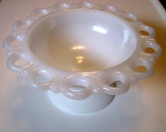 Vintage Milk Glass Bowl