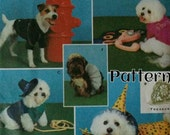Dog Clothes Outfit Pattern Simplicity 9884