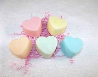 Mini Valentine Heart Soap Set