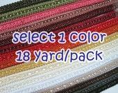 1 Pack (18 Yards) Gimp Braid Trim, Gimp Braid, Braided Cord, Gimp Cord, Braided Gimp Trim, Scroll Braid Trim, Chinese Braided Trim, Trim