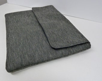 Charcoal  Fabric Laptop/Mac Book Case Cover