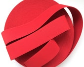 """2"""" Chilli Red Stretch Elastic Band"""