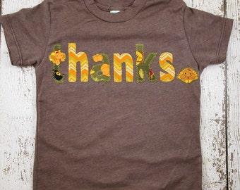 Children's Thanksgiving Organic Shirt Blend Turkey kid's tshirt chevron pilgrim pumpkin give thanks