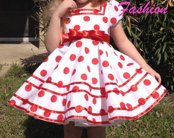 Shirley Temple replica dress