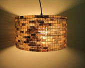 Lamp Pendant Lighting Chandelier Lampshade Pendant Light Drum Lampshade Lamp Lampada Coffee Filter Art