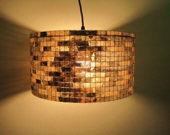 Pendant Lighting Chandelier Lampshade Pendant Light Drum Lampshade Lamp Lampada Coffee Filter Art
