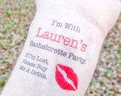 10 Bachelorette Tattoos - Bachelorette Party Temporary Tattoos - FREE Matching Bride Tattoo - If I'm Lost, Please Buy Me A Drink