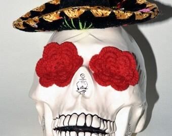 OLE!!! One of a Kind lifesize Ceramic Skull