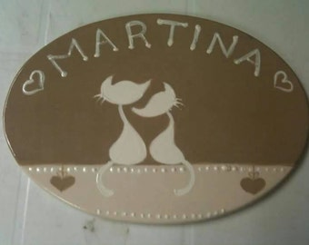 Ceramic Door Signs-Custom room