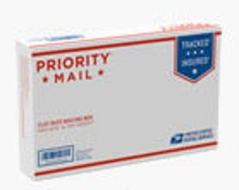 """PRIORITY MAIL Shipping in Small Flat Rate Box 8-5/8"""" x 5-3/8"""" x1-5/8"""""""