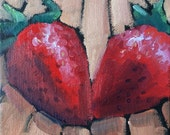 Oil Paintings • Original Art •  Daily Painters • Daily Painting • Strawberry