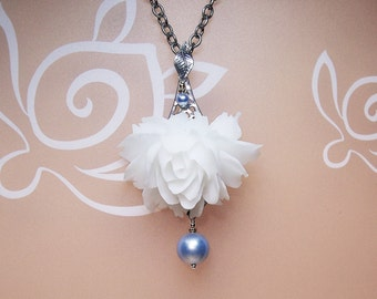 Your Color Pearl On Pendant Necklace