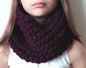 Knit Chunky Cowl - Snood - THE BRIDGEPORT  (more colors available)