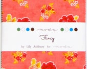 Fancy Charm Pack by Lily Ashbury from Moda - 42 Five Inch Squares