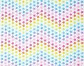 Cry Baby II - Star Bright Pastel Multi Cotton Print Fabric from Benartex