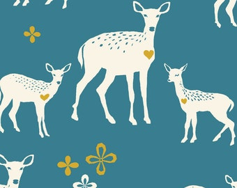 Westwood - Deerheart Canvas - Organic CANVAS Cotton Fabric from Monaluna