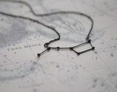 Necklace Ursa Major oxidized silver