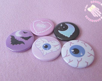 Creepy Cute Badges