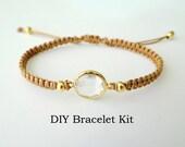 DIY Bracelet Kit - Macrame Tutorial