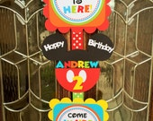 Deluxe Mickey Mouse Clubhouse Door Sign