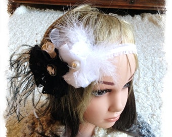 toddler floral headband