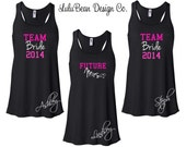 1 Team Bride Tank Top Perfect for Bachelorette Parties