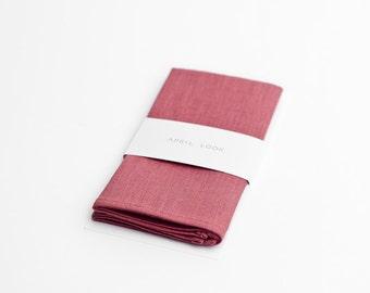 Pocket square, dusty rose