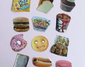 Food Stickers #2 (choose 3)