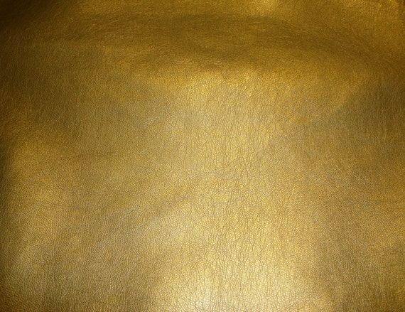 upholstery vinyl faux leather gold metallic ford car sofa faux leather vinyl fabric per yard 54. Black Bedroom Furniture Sets. Home Design Ideas